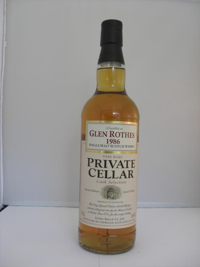 Glenrothes 23 years old
