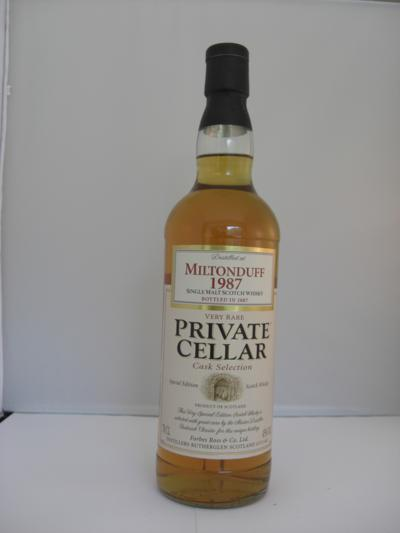 Miltonduff 20 years old