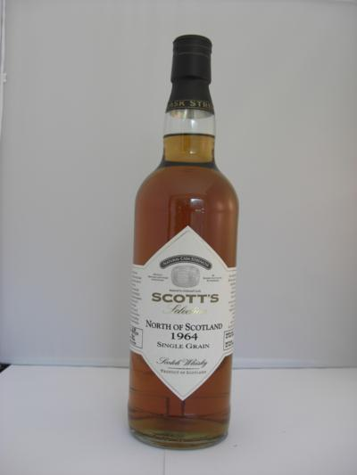 North of Scotland 44 years old single grain