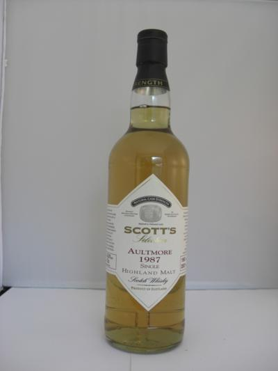 Aultmore 20 years old